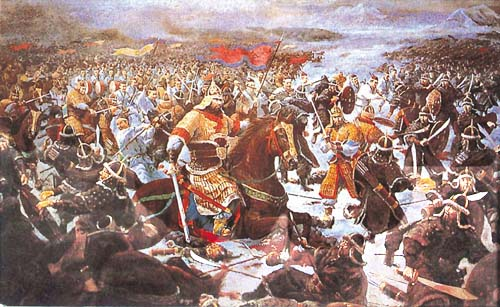 A battle from the Warring States period of ancient China