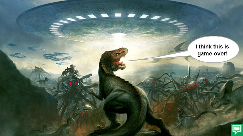 Caveman And Dinosaurs : U who was the first borderline from cavemen and dinosaurs to