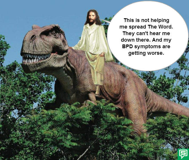 Image of: Jesusdinosaurspeech Bpd Transformation Wordpresscom Dinosaurs Bpd Transformation